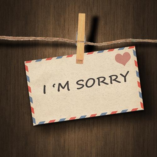 apologize auf deutsch